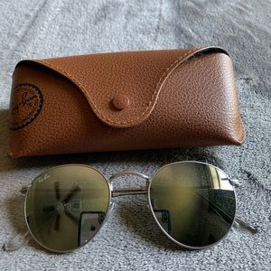 Ray Ban RB3447 Silver Matte, Silver Mirrored.